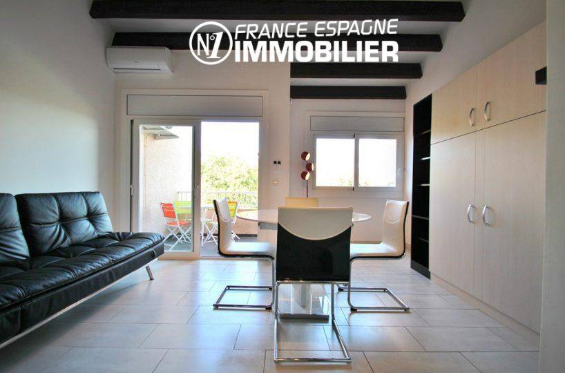 N1 France Espagne Immobilier: vend studio 36 m² au Boulou