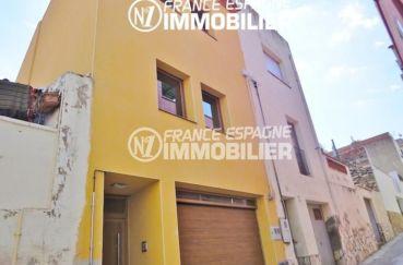 immobilier llanca: villa de village avec garage et atelier