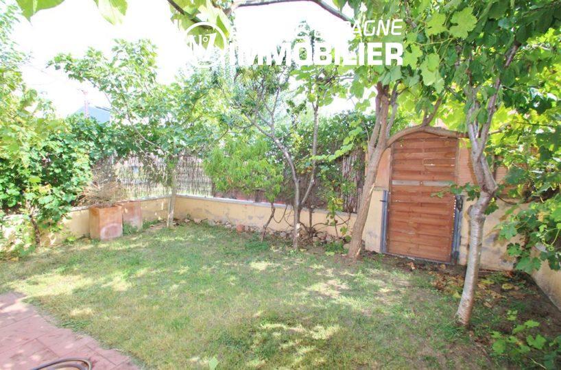 Empuriabrava: villa proche commerces, vue sur le jardin