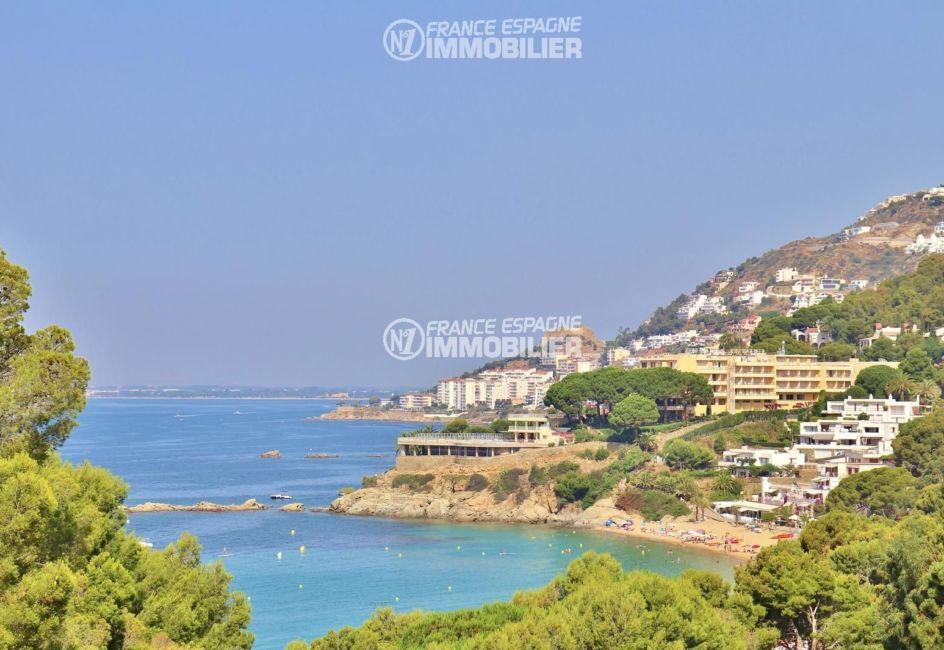 immobilier costa brava: villa ref.2667, superbe vue depuis la terrasse