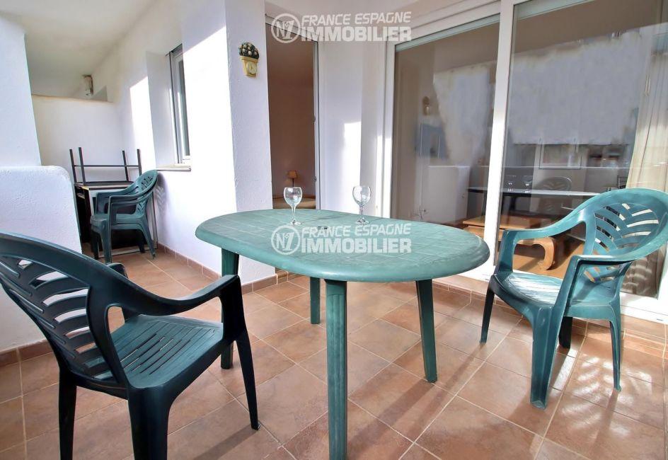 appartement santa margarida en vente, belle terrasse 10 m²