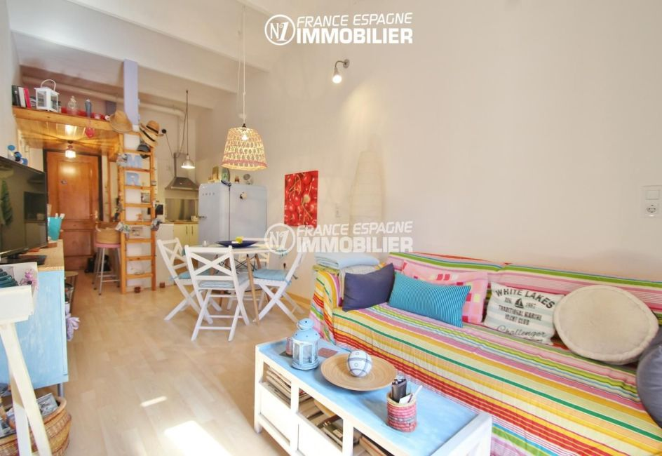 immobilier ampuriabrava: appartement ref.3283, salon / séjour avec rangements