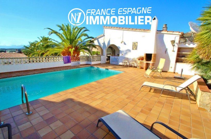 maison a vendre espagne, ref.2596, villa avec piscine, studio indépendant, proche plage