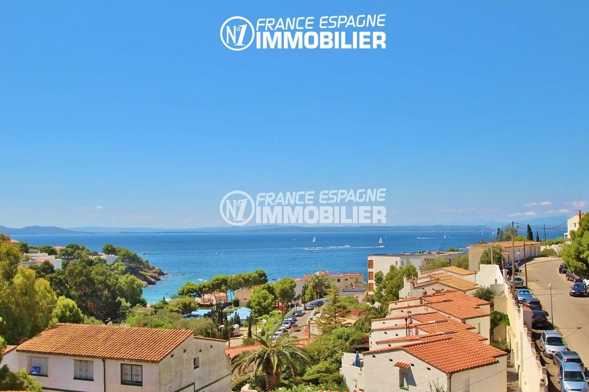 maison a vendre rosas, ref.2625, terrasse vue mer, proche plage, garage