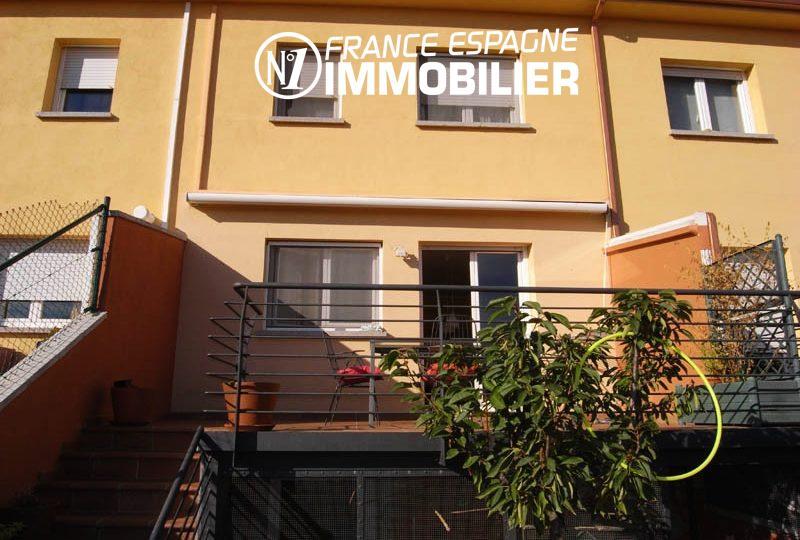Empuriabrava: villa 4 chambres avec terrasse & garage