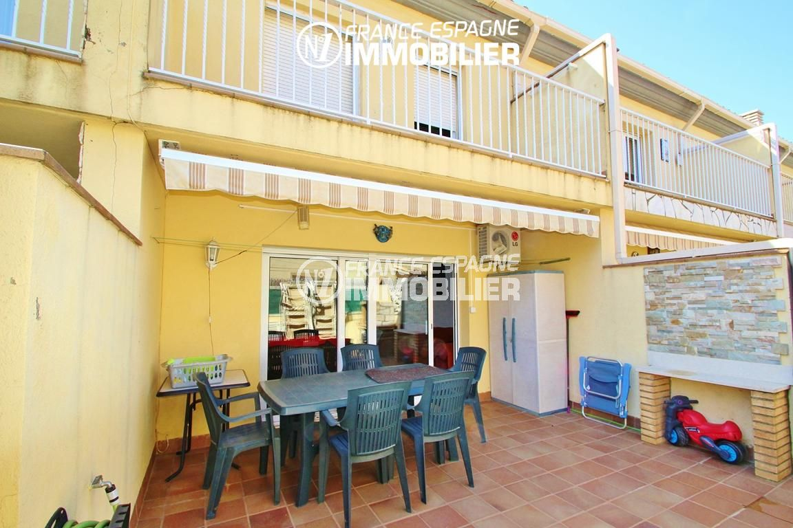 maison a vendre rosas, 153 m², 3 chambres, piscine, grand garage