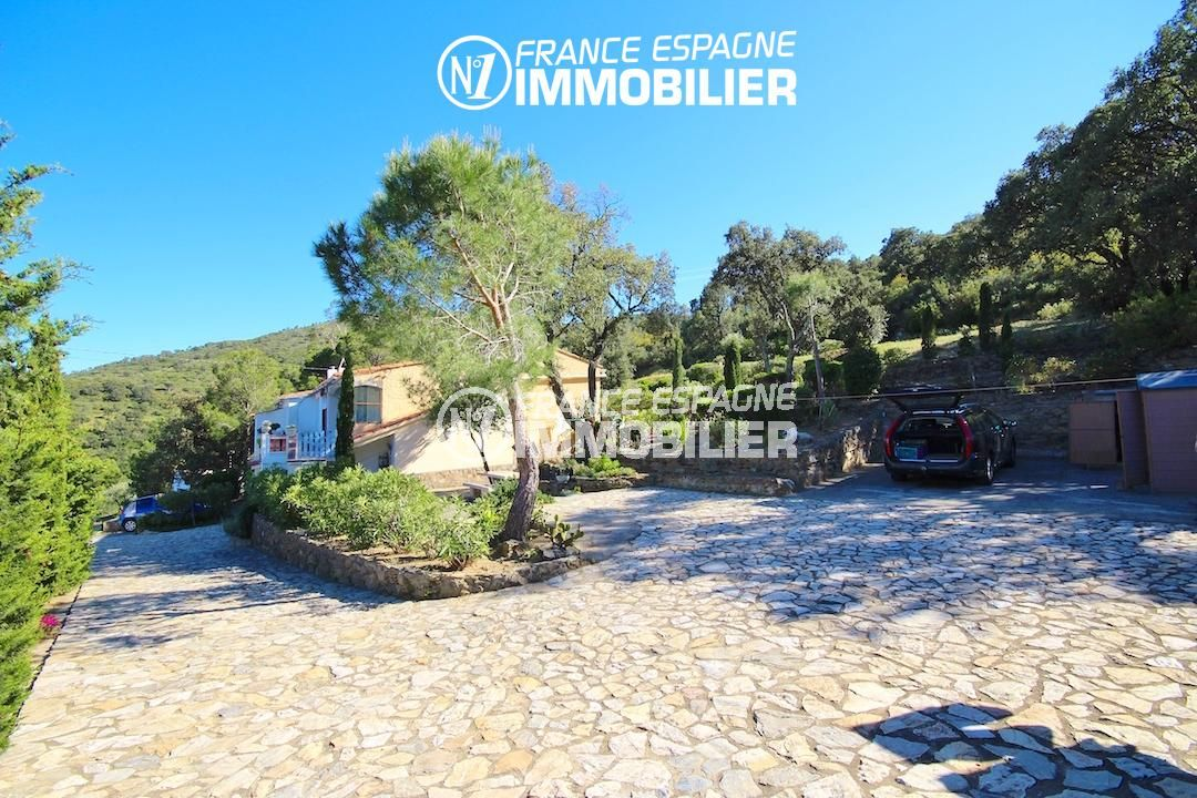 la costa brava: belle villa ref.2901, proche plage, jardin 640 m² entouré de verdure