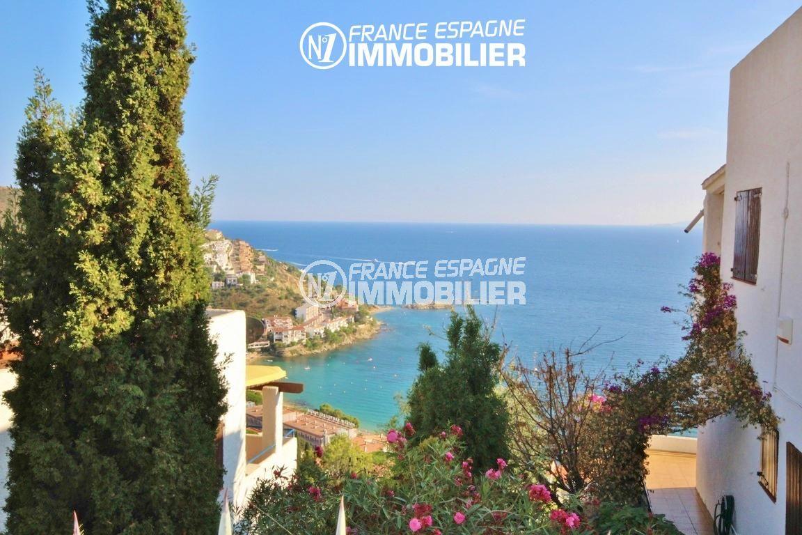maison a vendre a rosas, 65 m², sublime vue mer depuis la terrasse
