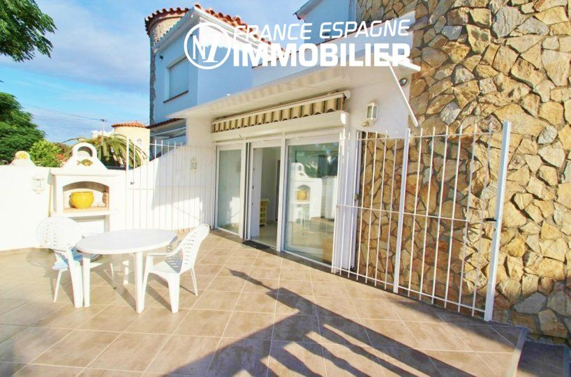 immobilier costa brava: villa ref.1939, terrasse 35 m² avec BBQ