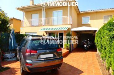 agence immobilière costa brava: ref.1861, aperçu de la villa de 174 m² avec garage