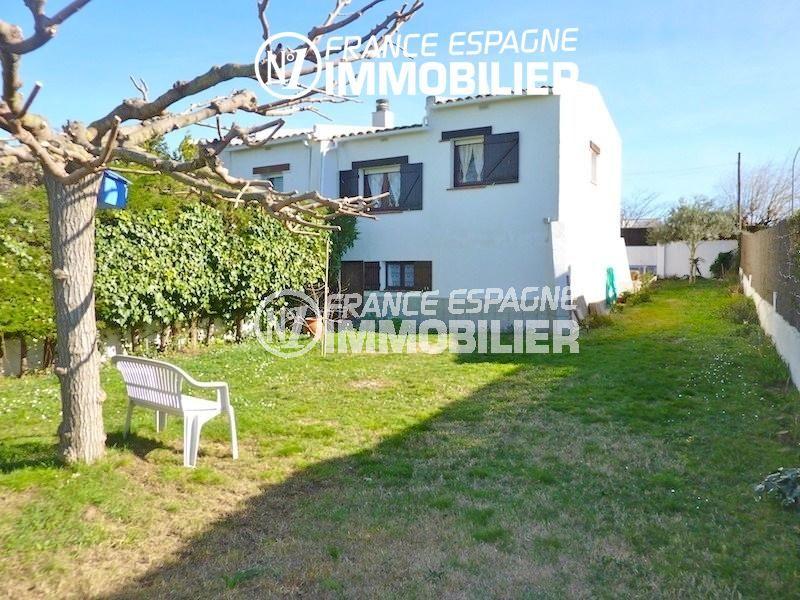maison a vendre empuriabrava, garage, terrain de 310 m² possibilité piscine