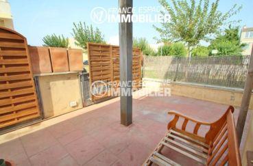 immobilier empuria brava: villa ref.2047, vue sur la terrasse espace détente