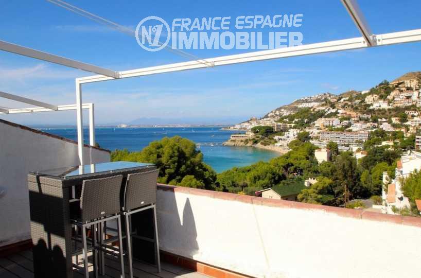 maison a vendre almadrava roses, ref.2667, terrasse vue mer magnifique
