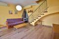 vente villa rosas: 2 chambres 75 m², grand séjour avec poele moderne