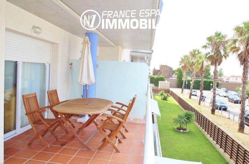 appartements a vendre a rosas, terrasse 15 m² ref.2647