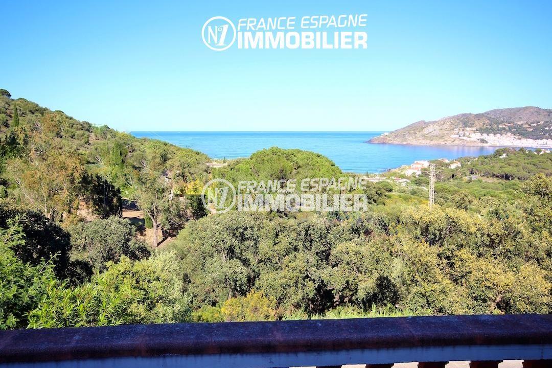 agence immobilière costa brava: villa ref.2901, vue mer imprenable, proche Llança