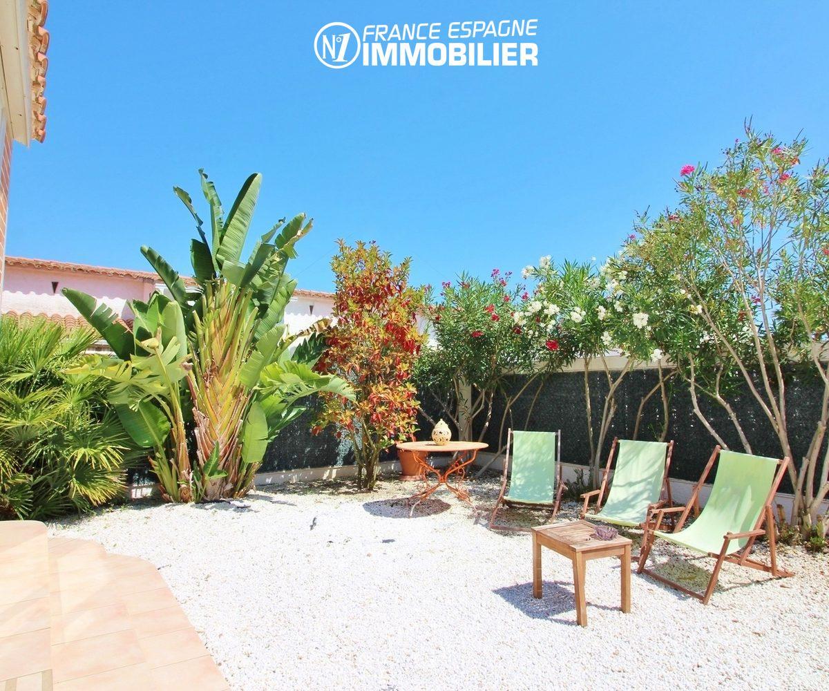 maison a vendre costa brava, 150 m², proche plage avec jardin, piscine, 3 chambres