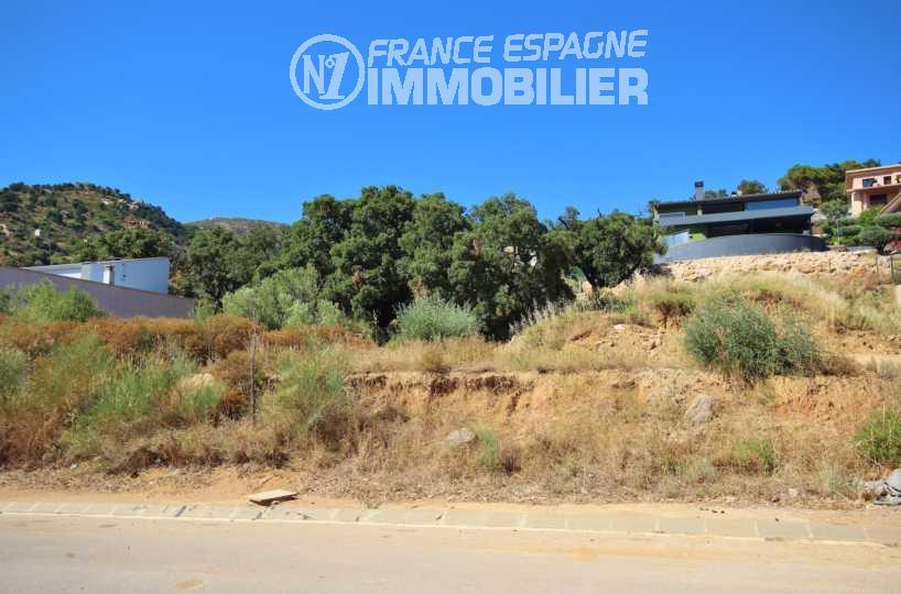 vente immobiliere costa brava: villa à construire sur terrain de 606 m² à palau