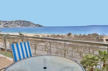 agence immobilière roses: appartement 85 m² atico, terrasse superbe vue mer