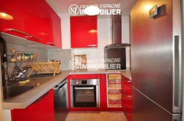 appartement a vendre costa brava, ref.3052, coin cuisine équipée