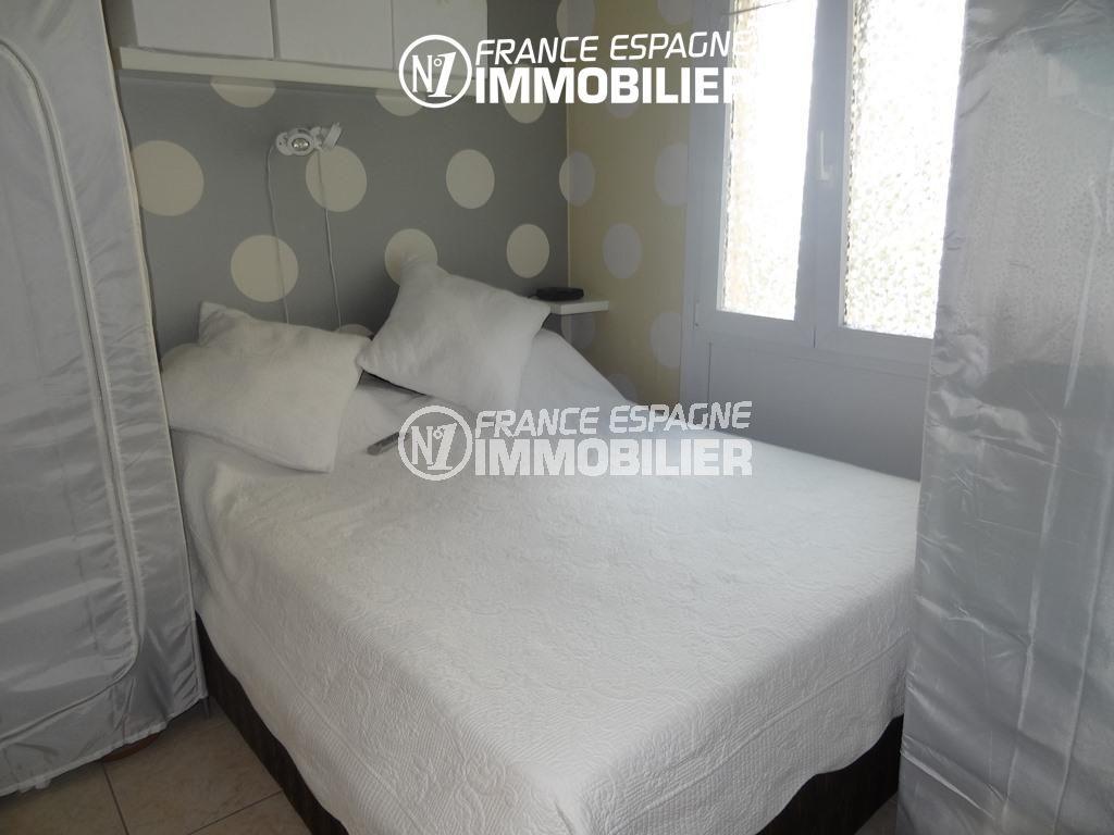 appartements a vendre a rosas, ref.2286, chambre 1 avec un grand lit