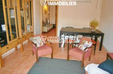 immo costa brava: villa ref.1970, salon / salle à manger, vue sur le hall d'entrée