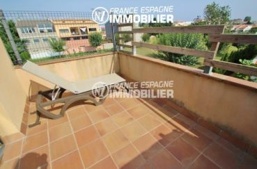 agence immo empuriabrava: villa ref.2047, terrasse avec vue dégagée
