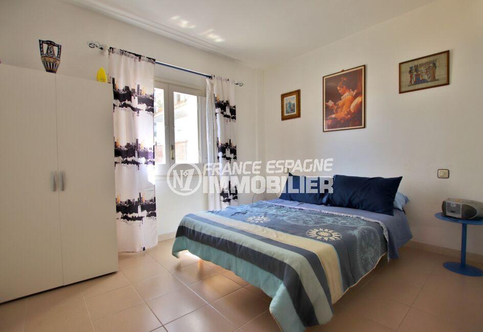 appartement à vendre à rosas espagne,  2 pièces 50 m², chambre à coucher, lit double