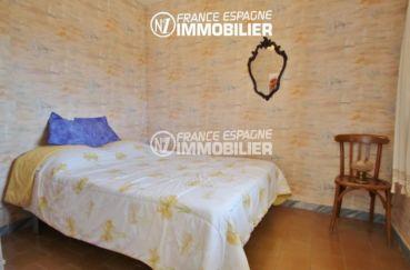 achat appartement rosas, parking, deuxième chambre avec lit double