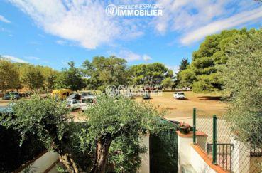 immobilier ampuriabrava: villa ref.3271, aperçu deuxième terrasse vers l'extérieur
