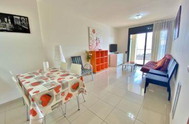 appartement a vendre costa brava, 3 pièces 85 m², séjour climatisé avec terrasse