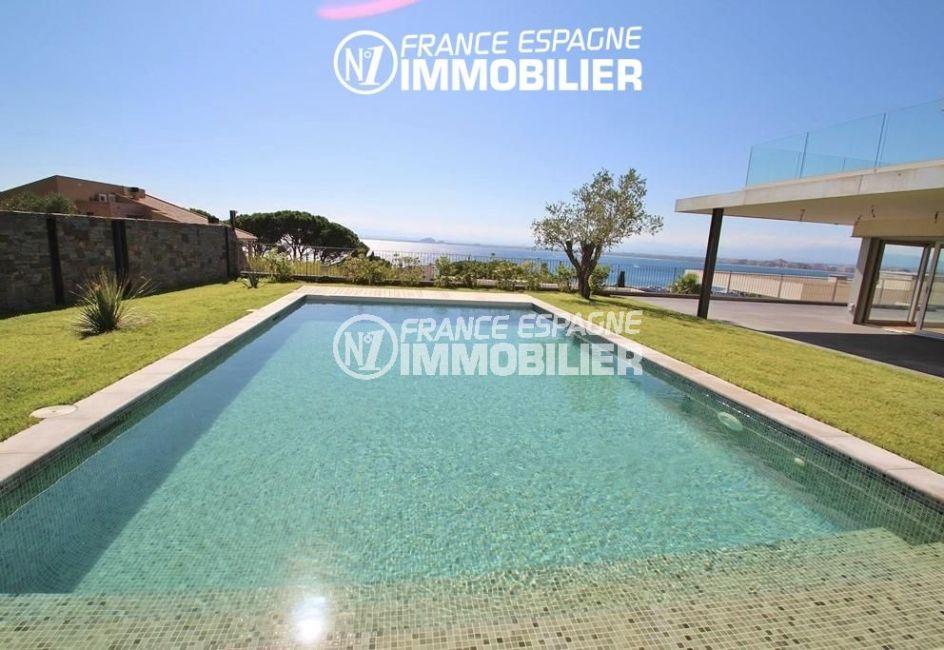 immobilier roses espagne: villa ref.2391, aperçu de la piscine 9 m x 5 m