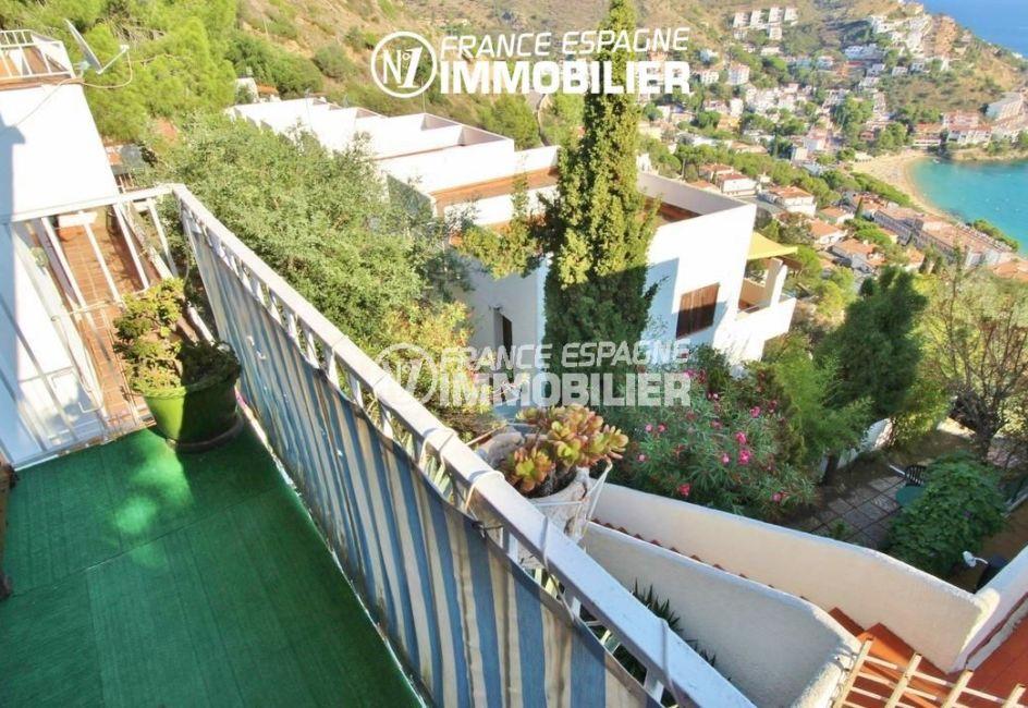 maison a vendre espagne, piscine, terrasse de 11 m² vue mer accès salon