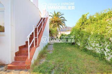 agence immobiliere costa brava: villa ref.3211, escalier exterieur vers l'étage