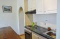 agences immobilières empuriabrava: appartement 3 pièces 57 m², cusine avec plaques et hotte