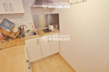 vente appartement empuriabrava, ref.3283, cuisine aménagée avec des rangements