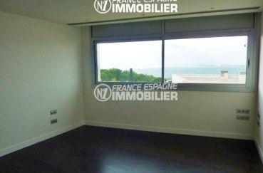 agence immobiliere roses: villa ref.2392, deuxième chambre vue mer