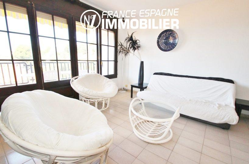 rosas immo: villa ref.2625, salon / séjour avec accès à la terrasse