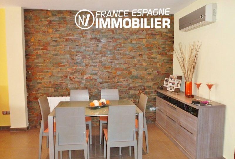 agence immobiliere costa brava espagne: villa ref.1013, espace salle à manger