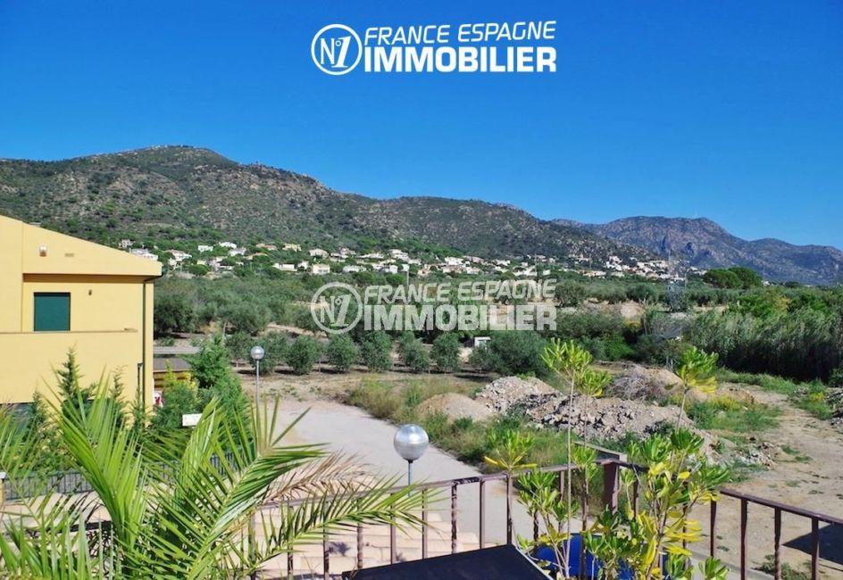 agence immobiliere palau saverdera: villa ref.2287, vue dégagée depuis la terrasse
