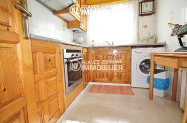 agence immobilière roses: villa ref.2943, vue cuisine indépendante équipée