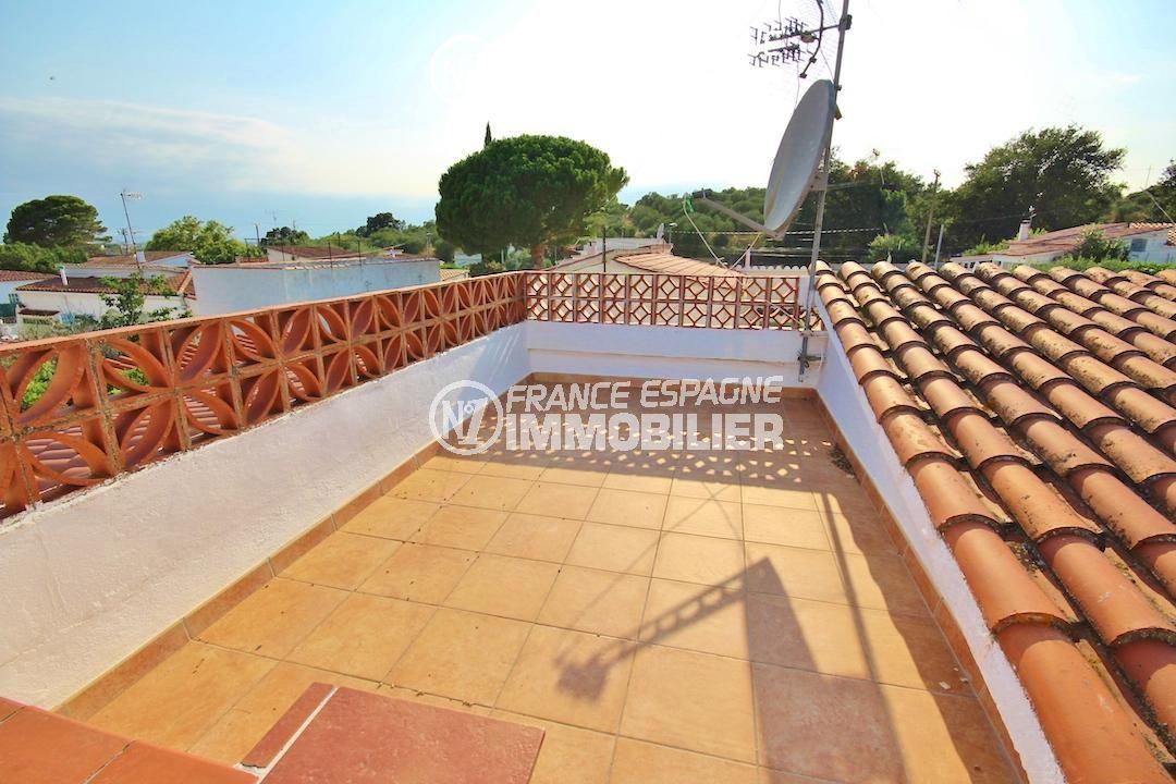 agence immobilière costa brava: villa ref.3211, solarium sur le toit