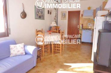 acheter maison empuriabrava, 108 m², salon / séjour avec cuisine ouverte