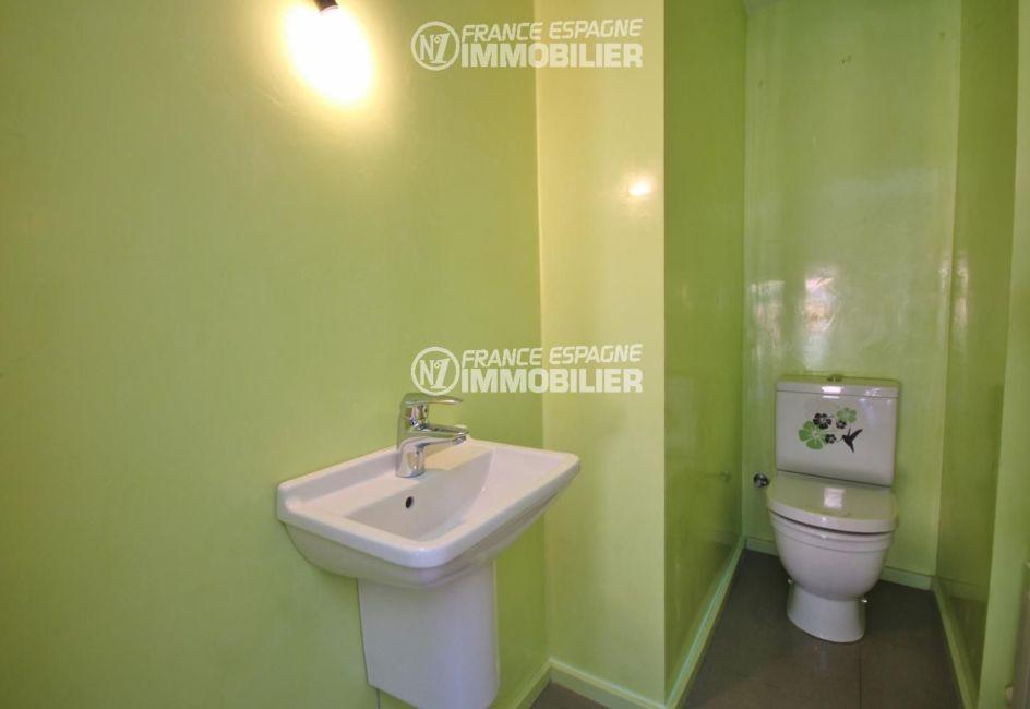maison costa brava, ref.3217, toilettes indépendantes