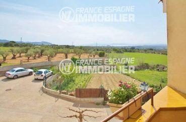 maison a vendre en espagne bord de mer pas cher, ref.354, vue dégagée depuis la terrasse