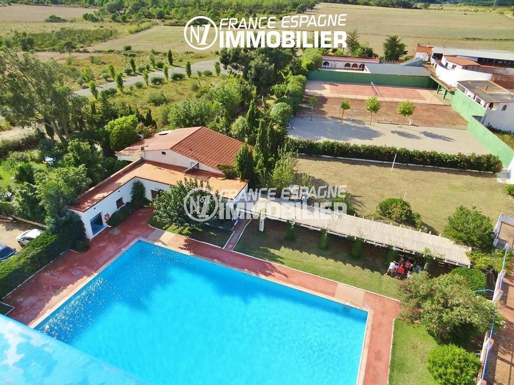 immobilier espagne costa brava, studio à Santa Margarita, 27 m², piscine, pas cher