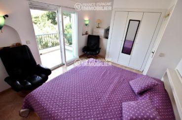 agence immobiliere costa brava: villa ref.2667, première cahmbre avec accès terrasse