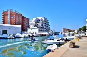 acheter appartement rosas, 3 pièces 55 m², aperçu du canal à proximité