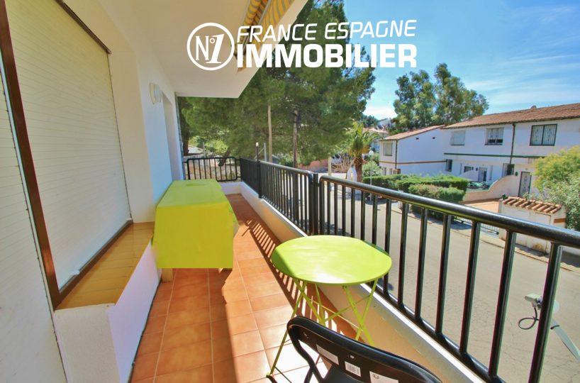 immobilier costa brava: appartement ref.2862, terrasse de 11 m² avec accès au salon