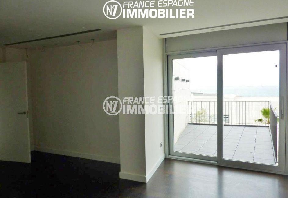agence immobilière roses: villa ref.2392, troisième chambre avec terrasse de 26 m²